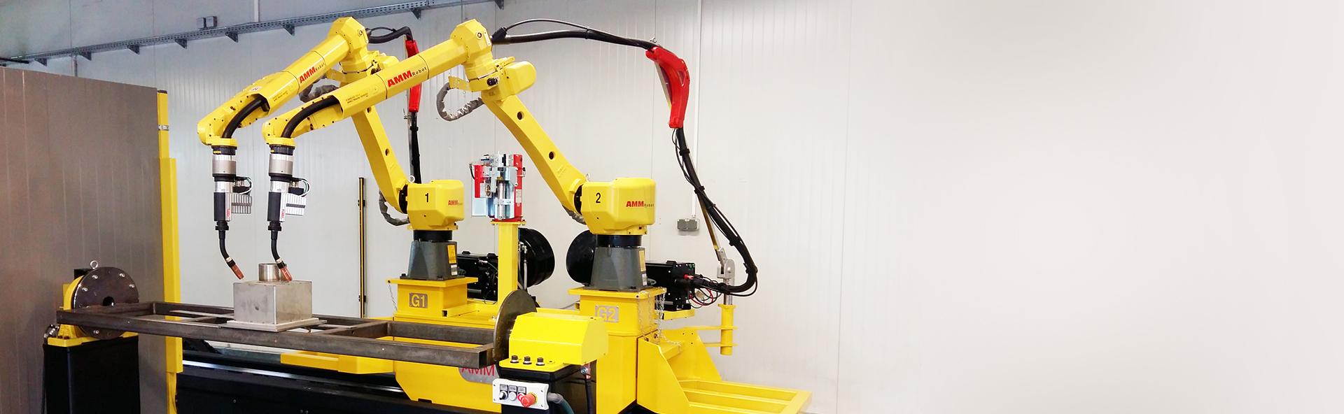 Fantastyczny AMM Robot - Stanowiska zrobotyzowane, urządzenia i linie VC29